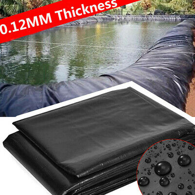 Fish Pond Liner Garden Pools Reinforced HDPE Heavy Duty Pool Landscaping • 16.39£