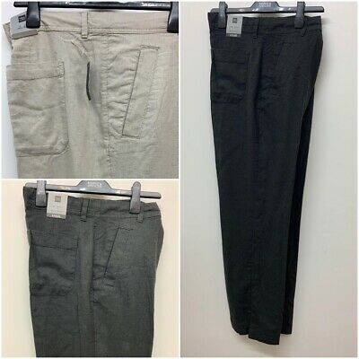 £9.99 • Buy NEW RRP £19.50 Ex M&S Regular Fit Belted Trekking Trousers In 2 Colours!