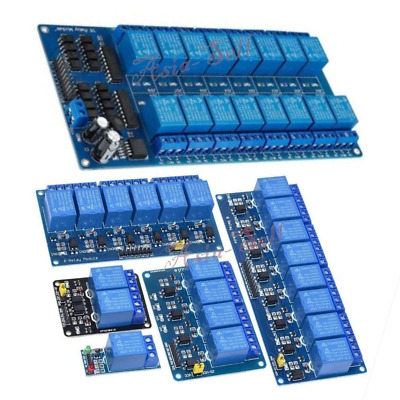 AU10.60 • Buy 5V 12V 24V 1 2 4 8 16 Channel Relay With Optocoupler