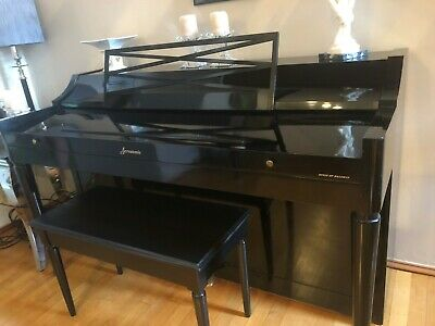 $250 • Buy Baldwin Acrosonic Piano Upright, Black With Bench, Local Pickup Only