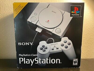 $45 • Buy BRAND NEW SEALED Sony PlayStation Classic Mini Console 20 Classic Games Loaded