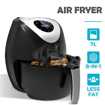 AU59.90 • Buy 7L 1700W Air Fryer LCD Airfryer Healthy Cooker Oil Free Electric Kitchen Oven
