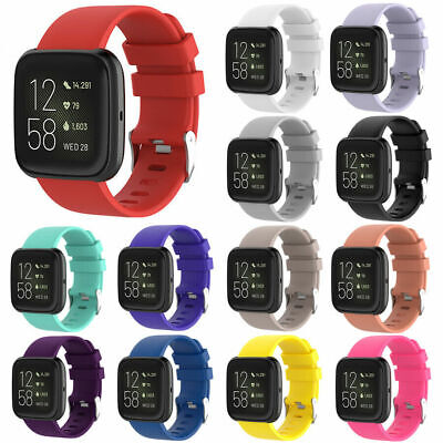 $ CDN3.99 • Buy █ For Fitbit Versa 2 / LITE Watch Band Replacement Silicone Bracelet Wrist Strap