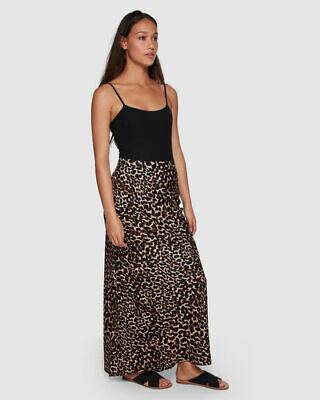 AU44.99 • Buy Bnwt Tigerlily Ladies Colca Leopard Maxi Skirt Size 8 Rrp $149 Last One