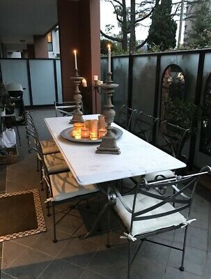 AU3999 • Buy 8 Seater Outdoor Setting Le Forge