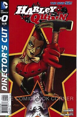 $ CDN9.37 • Buy DC Comics 2013 New 52 HARLEY QUINN #0 Directors Cut 2nd Print NM Red Variant
