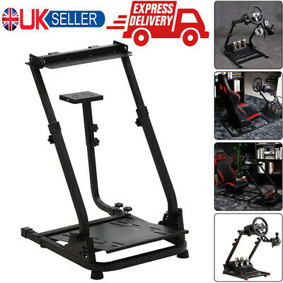 Racing Steering Simulator Wheel Stand For Logitech Racing Driving Force Shifter • 42.79£