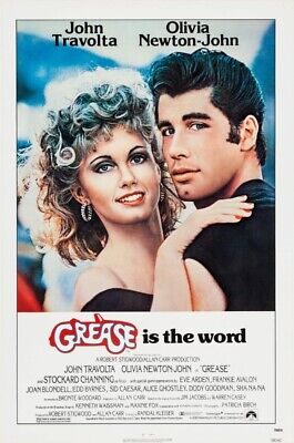 £24.99 • Buy Grease - Quad Movie Poster Musical Glossy Matte Print Giant