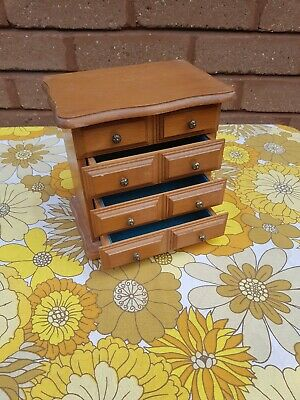 Beautiful Vintage MELE Chest Of Drawers Style Jewellery Box • 9.99£