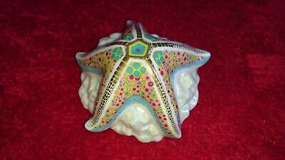 Royal Crown Derby Starfish Pop. First Quality Paperweight  • 20£