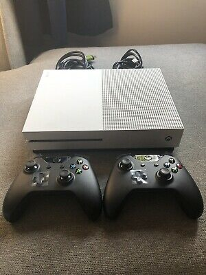 $350 • Buy Microsoft Xbox One S 1TB White Console Bundle With BRAND NEW Controllers
