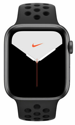 $ CDN679.30 • Buy Apple Watch Series 5 Nike 44mm Space Gray Aluminum Case With Anthracite/Black...