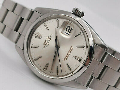$ CDN3808.45 • Buy Vintage ROLEX Oyster Perpetual Date  Early  1500 Dauphine Hands - COSC Cal 1560