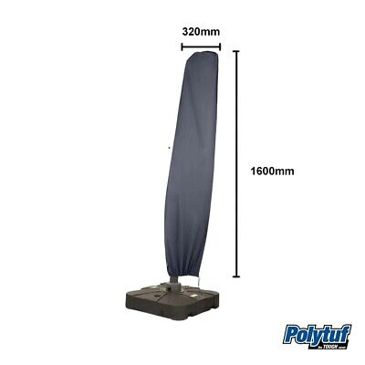 AU39.95 • Buy Polytuff Cantilever Umbrella Cover Heavy Duty  Vinyl Cover Suits 2.7m Umbrella