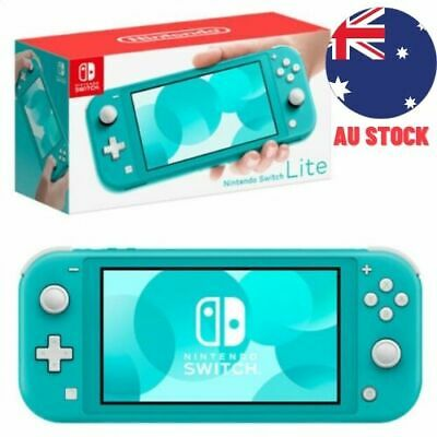 AU366 • Buy Nintendo Switch Lite Console - Turquoise NEW