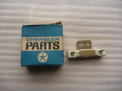AU9.51 • Buy NOS Valiant Ballast Resistor Suits Points Ignition R Series-R/T Charger