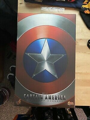$300 • Buy Hot Toys Captain America: The First Avenger Action Figure Please Read Discrip