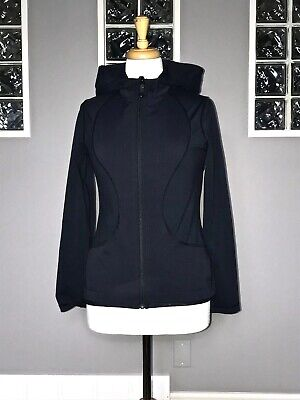 $ CDN61.20 • Buy Lululemon Jacket 6 Black Dance Studio Shape Swift Rare Euc