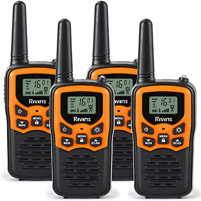$ CDN83.89 • Buy Long Range Walkie Talkies 4 Pack 2-Way Radios 22 Channel FRS/GMRS UHF Handheld