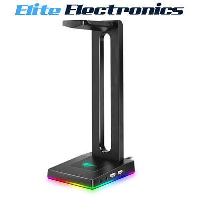 AU49.85 • Buy Havit TH630 RGB Headset Stand For Desktop Gamer Headphone