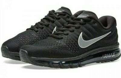 $199.99 • Buy Nike Air Max 2017 Mens Size 11.5 Running Shoes 849559 001 Black White New