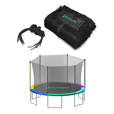 £36.18 • Buy Trampoline Safety Net For 15 Ft Frame For 8 Straight Enclosure Poles Or 4 Arches