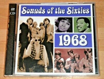Time Life - Sounds Of The Sixties - 1968 - 2 Cd - New And Sealed - Uk Free Post • 11.99£