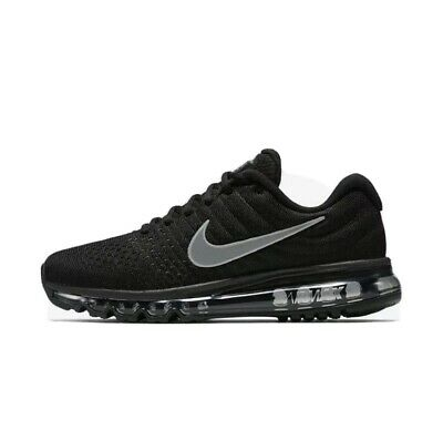 $149.99 • Buy Nike Air Max 2017 Mens Size 9 Running Shoes 849559 001 Black White New