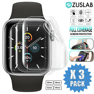 AU7.99 • Buy For Apple Watch IWatch Series SE 6 5 4 3 2 1 Full Screen Protector 38 40 42 44mm