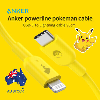 AU25.46 • Buy Anker USB To Lightning Cable USB Charing Cable PowerLine II For IPhone 0.9m