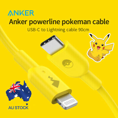 AU29.99 • Buy Anker USB To Lightning Cable USB Charing Cable PowerLine II For IPhone 0.9m