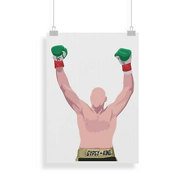 £9.99 • Buy Tyson Fury, Boxing, Print, Poster, Prints, Posters, Wall Art, Gift, Gifts