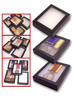 £5.50 • Buy 1 Glass Display Case British German French US WWI Single Pair Medals Badges Pin