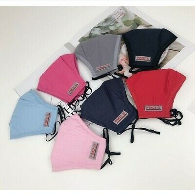 Face Masks, Cotton, Washable And Reusable Double Layer With A PM 2.5 Filter  • 3.99£