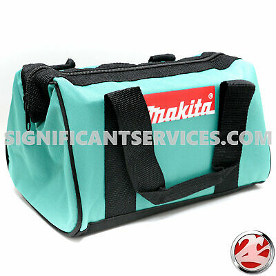 New Makita 12  Durable Heavy Duty Contractor Canvas Tool Bag Tote Drills Drivers • 8.80£