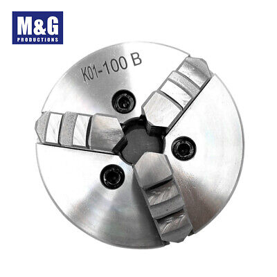 AU130 • Buy 3 Jaw Manual Wood Lathe Chuck Self-Centering M6  Hardened Steel CNC