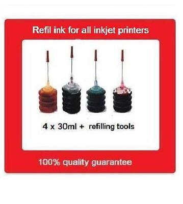 AU18.99 • Buy A Set Of Refill Kits For HP67 Black And HP67 COlour Ink Cartridges