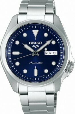 $ CDN294.96 • Buy New SEIKO 5 SRPE53K1 Automatic Full Stainless Steel 40mm Navy Dial 24 Jewels