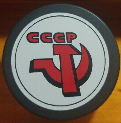 $24.99 • Buy Team Russia Cccp Very Rare Official Hockey Puck Made In 🇨🇿