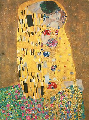 $ CDN27.28 • Buy Clementoni Great Museum The Kiss, Klimt High Quality Jigsaw Puzzle (500 Pieces)