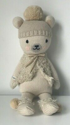 """Cuddle + Kind 13"""" Little Stella The Polar Bear Soft Toy - NEW With Tag • 40£"""