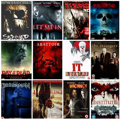 DVD Slasher Horror Movies Monsters Zombies Ghosts Supernatural Lots DVDs Choose  • 2.39£