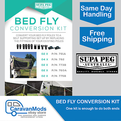 AU57.99 • Buy Jayco Bed Fly Conversion Kit Suit Jayco Camper Trailer Eagle Swan Dove Supa Peg
