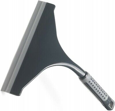 Addis Grey Plastic Squeegee Shower Glass Window Wiper Screen Cleaner Tile Blade • 5.30£