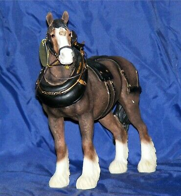 Shire Horse In Harness From Country Life Collection By Leonardo ™ LP 13325 • 31.95£