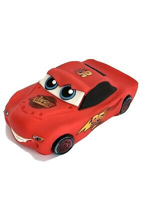 Unofficial Lighting McQueen Disney Cars Handmade Edible Birthday Cake Topper • 27.99£