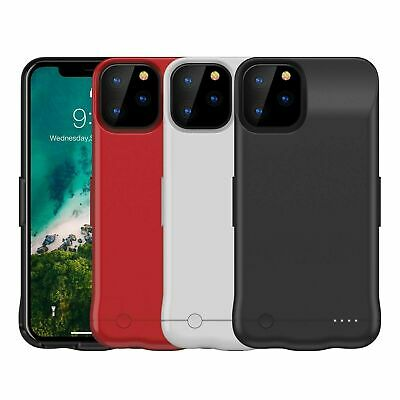 External Battery Case For IPhone 11 PRO Max Charging Cover 6200mAh UK Seller • 25.99£