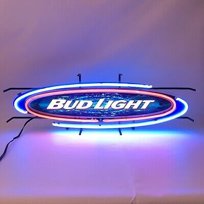 $ CDN234.02 • Buy Bud Light Oval 36 Inch Neon Light Electric Bar Sign