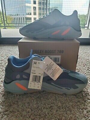 $ CDN733.37 • Buy Adidas Yeezy Boost 700 Carbon Blue Men Size 9 100% Authentic With Receipt