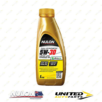 AU25.99 • Buy NULON Full Synthetic 5W-30 Long Life Engine Oil 1L For FORD Ka 1.3L Manual